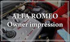 ALFA ROMEO Owner impression