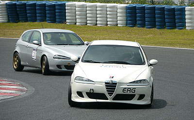 RaceA 決勝1ヒート スタート コース6周