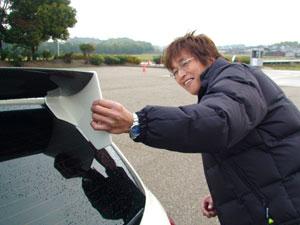 第1回 SIKARRARI 「奈良の街を走ろうゲームラリー」 レーシングカーボンウイング