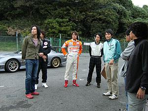 鈴鹿サーキットのスタッフ