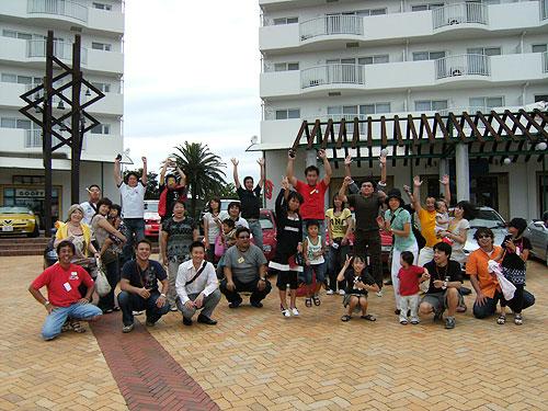 第4回 SIKARRARI 「アルファで行こう!えびちゃん三昧♪の旅」記念撮影