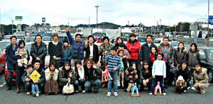 第1回 SIKARRARI 「奈良の街を走ろうゲームラリー」シカーリイベント記念撮影
