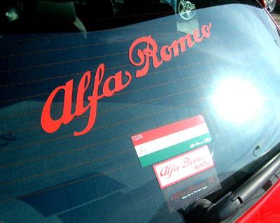 アルファロメオ 147 TI  アルアルファー様