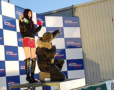 続いて、レースA AR150-9 表彰式。 初レース参戦で 1位: たけ坊さま   おめでとうございます☆