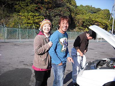 サーキット初!走行  ホワイトアルファさま   AR155
